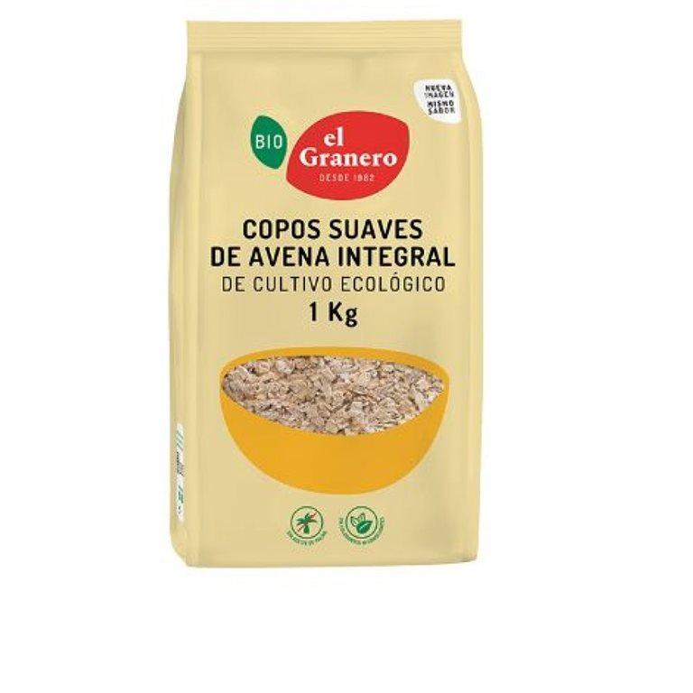 Soft wholegrain oat flakes 1 Kg
