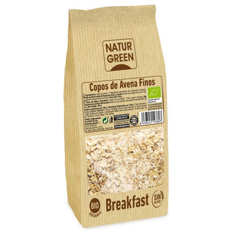 Copos de Avena Sin Gluten Bio 1kg, 1 ud