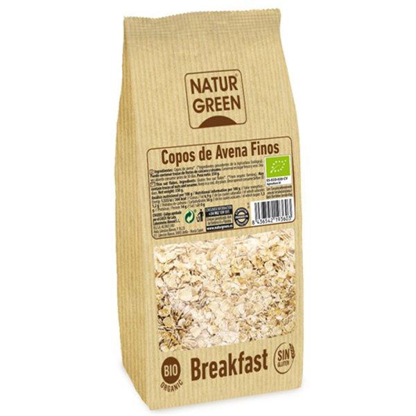 Copos de Avena Finos Sin Gluten Bio 1kg