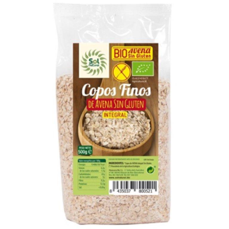 Copos de Avena Sin Gluten Bio 500g, 1 ud