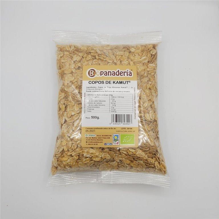 Copos de Trigo Khorasan Kamut® Ecológicos 500gr, 1 ud