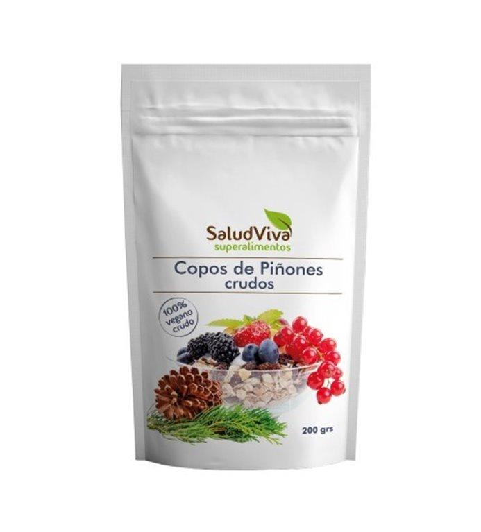 Copos de Piñones Crudos 200g