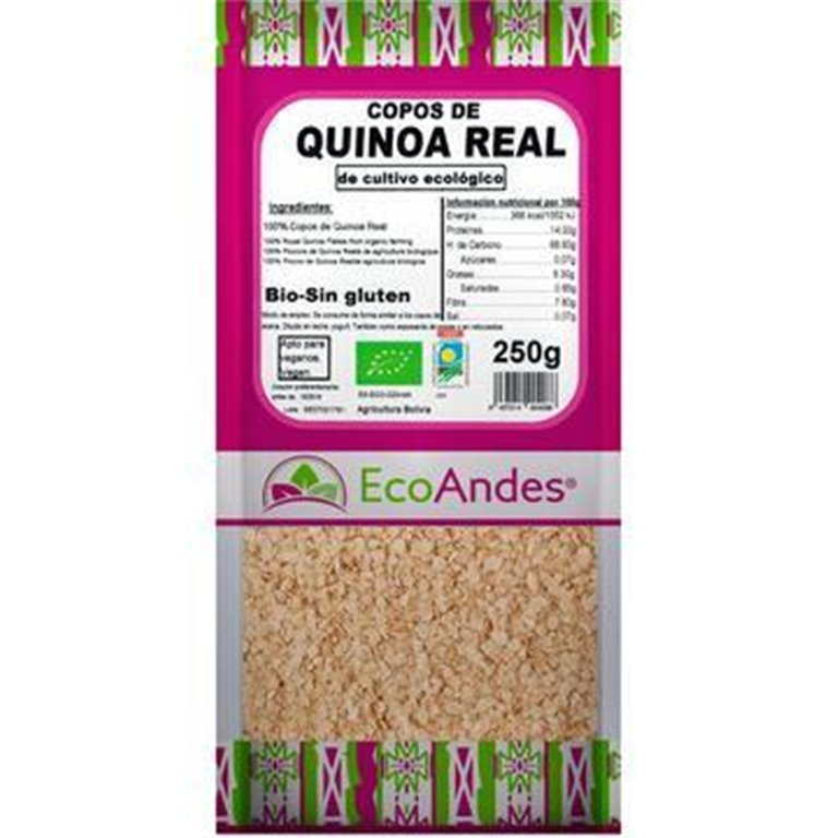 Copos de Quinoa Real Bio 10kg