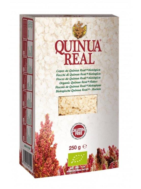 Copos de Quinoa Real Bio Fairtrade 250g