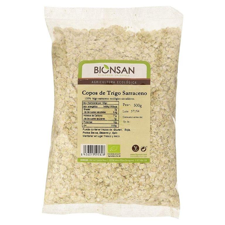 Copos de trigo sarraceno ecológicos -500gr