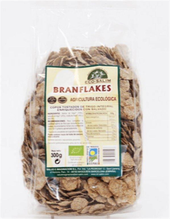 Copos tostados de trigo integral, 300 gr