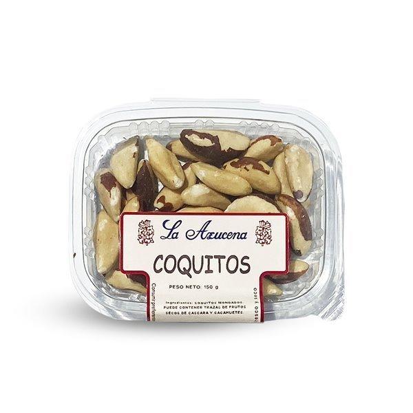 Coquitos de Brasil La Azucena. Envase de 150g