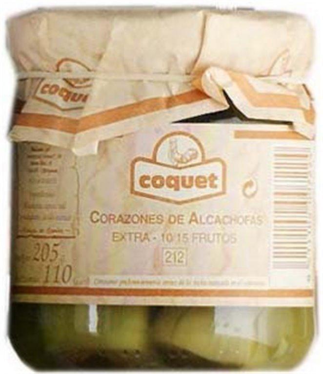 Corazones de alcachofa Coquet