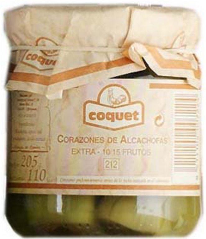 Corazones de alcachofa Coquet, 1 ud