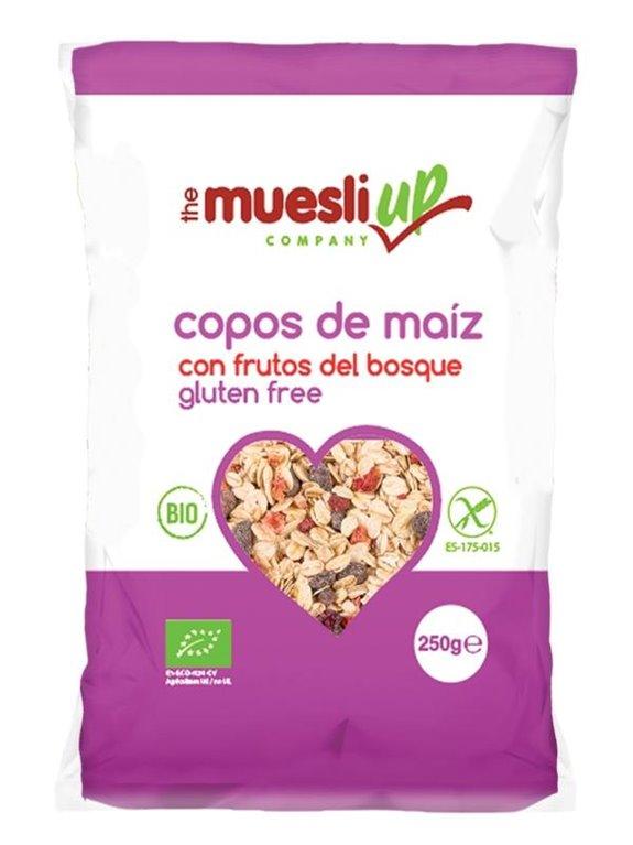 Corn Flakes con Frutos del Bosque Sin Gluten Bio 250g, 1 ud
