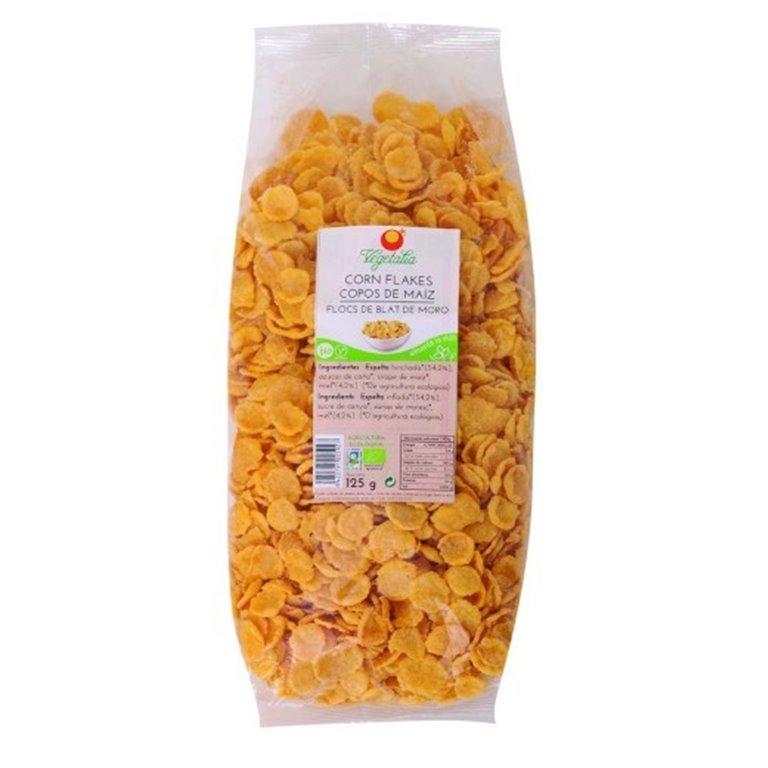 Corn Flakes (Copos de Maíz Tostado Sin Azúcar) Bio 400g, 1 ud