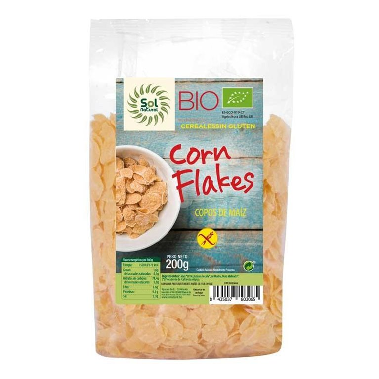 Corn Flakes Sin Gluten Bio 200g