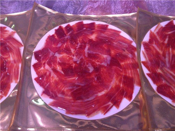 Corte a cuchillo y envasado (100gr) de Paleta