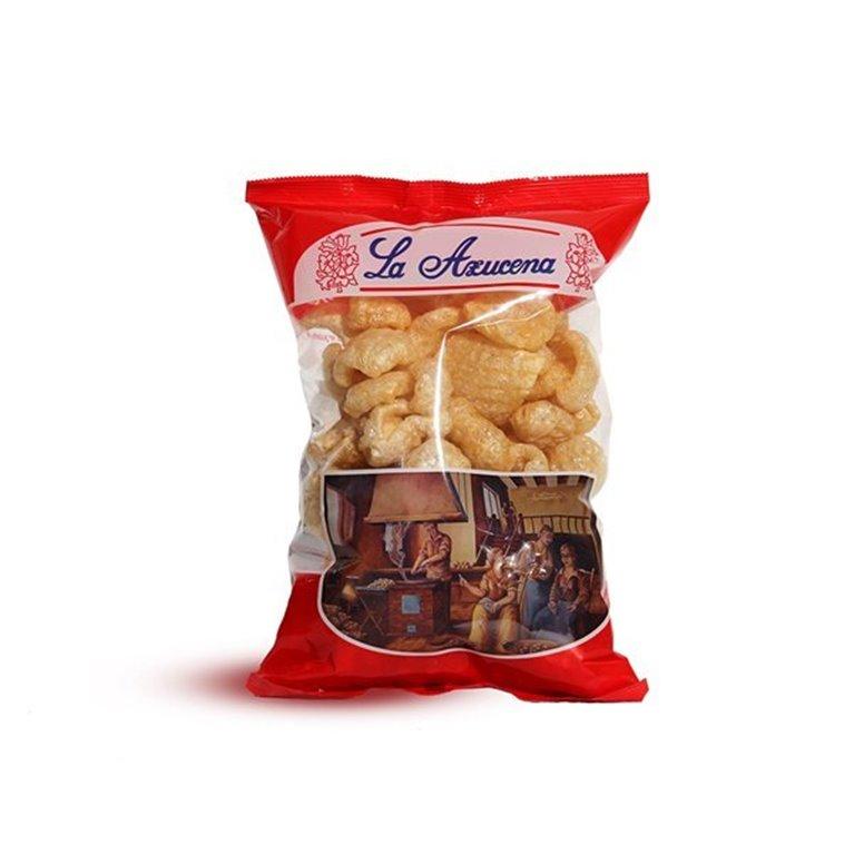 Cortezas de cerdo La Azucena. Bolsa de 95g