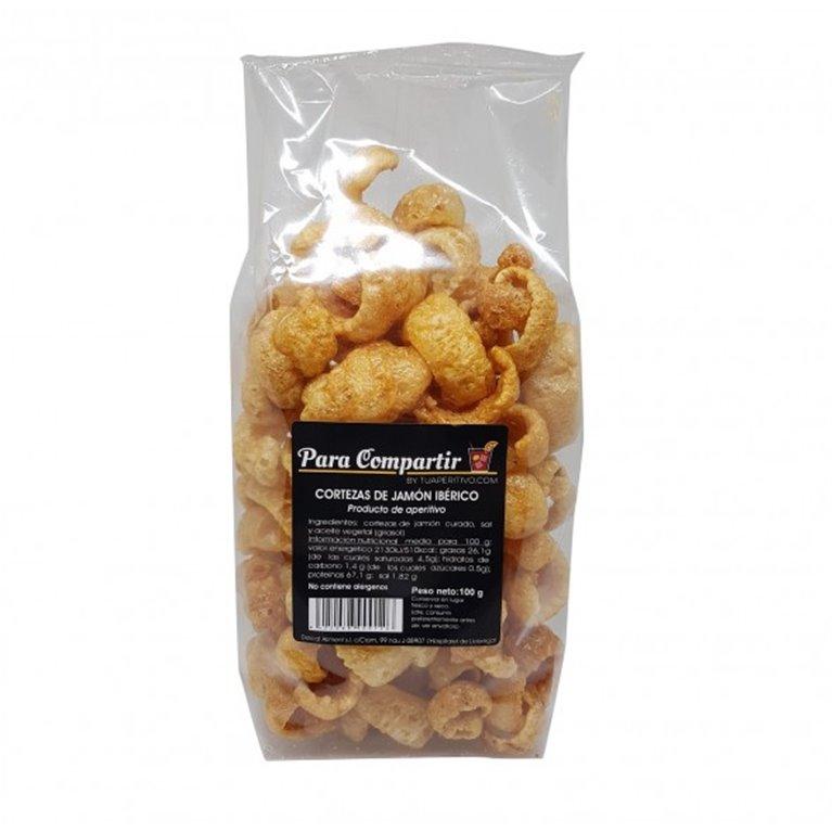 Cortezas de Jamón Ibérico Para Compartir by TUAPERITIVO.COM 100 gr., 1 ud
