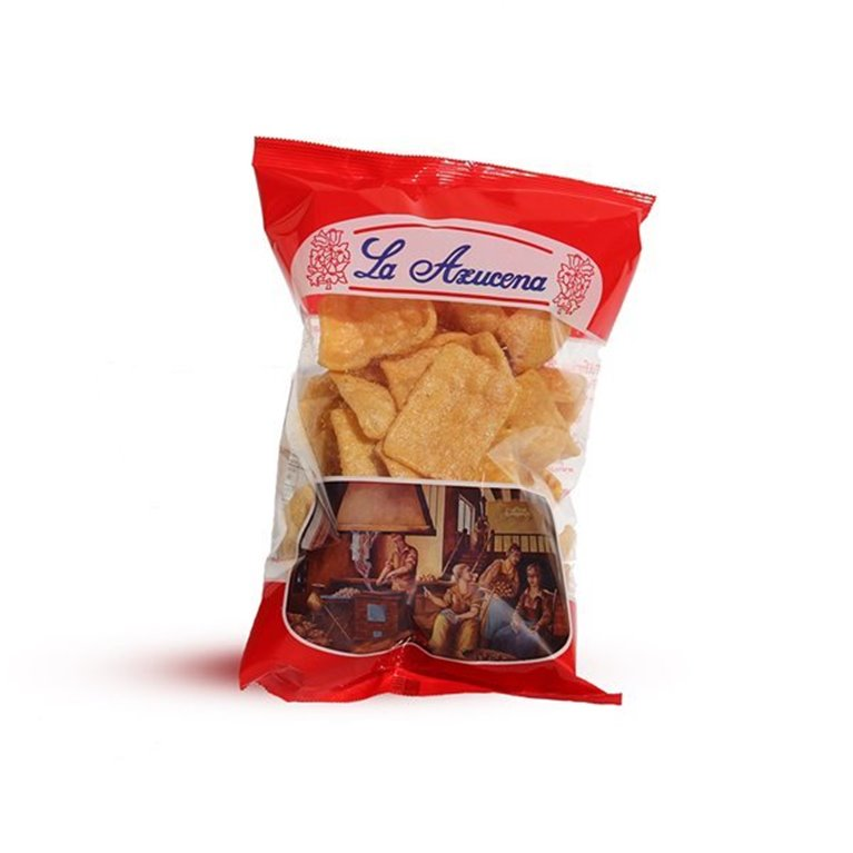 Cortezas de trigo La Azucena. Bolsa de 70g