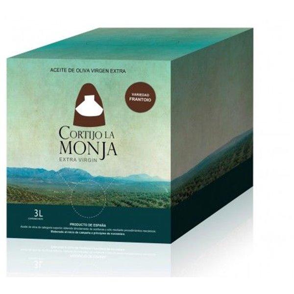 Cortijo la Monja. Aceite de oliva . 2 x 3 Litros bag in cube