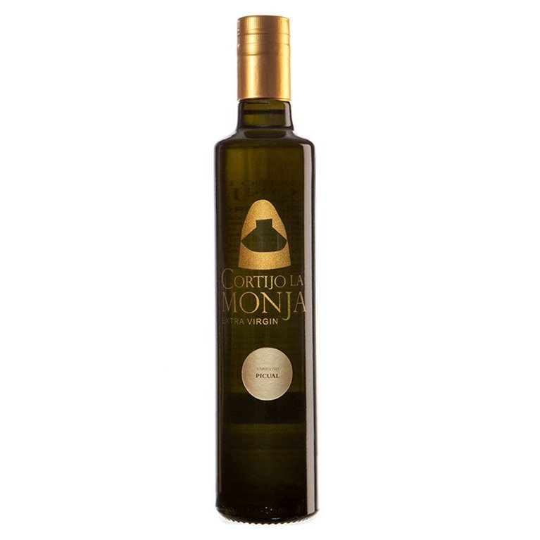Cortijo la Monja. Aceite de oliva virgen extra. 6 botellas 500 ml.