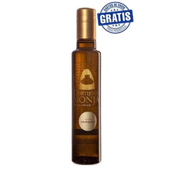 Cortijo la Monja. Aceite de oliva virgen extra. 12 botellas 250 ml.