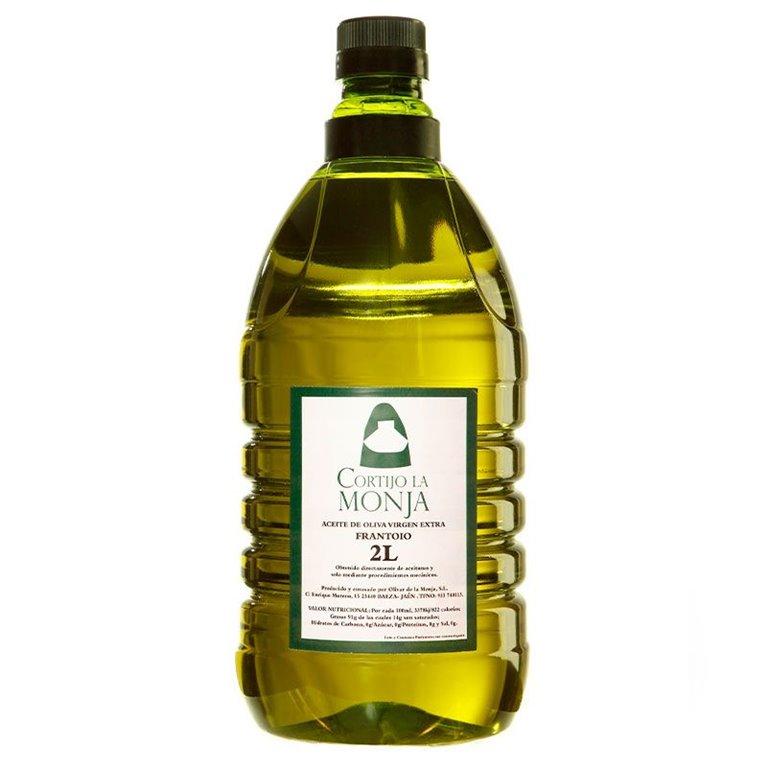 Cortijo la Monja. Aceite de oliva virgen extra. Caja de 6 x 2 litros.