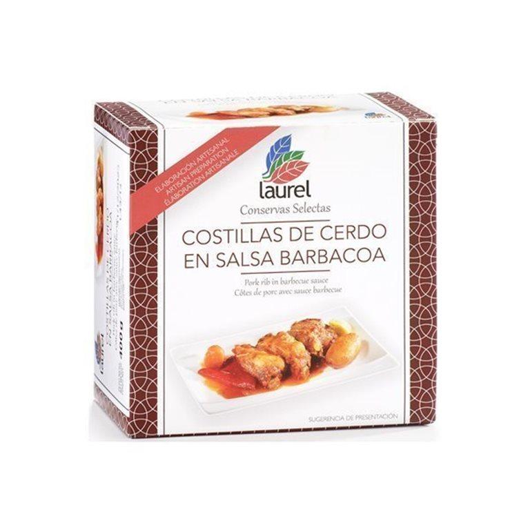 Costilla de Cerdo en Salsa Barbacoa, 470 gr