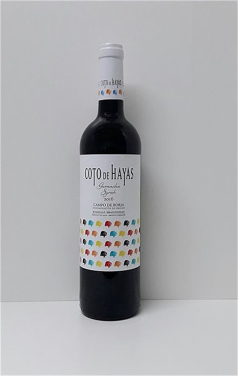 COTO DE HAYAS - Tinto Cosecha 2016, 0,75 l