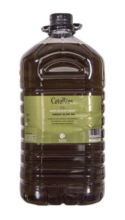 Coto Rios. Aceite de oliva Picual. 3 Garrafas de 5 Litros, 1 ud