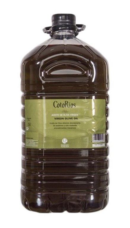 Coto Rios virgin.  3 Bottles of 5 Liters