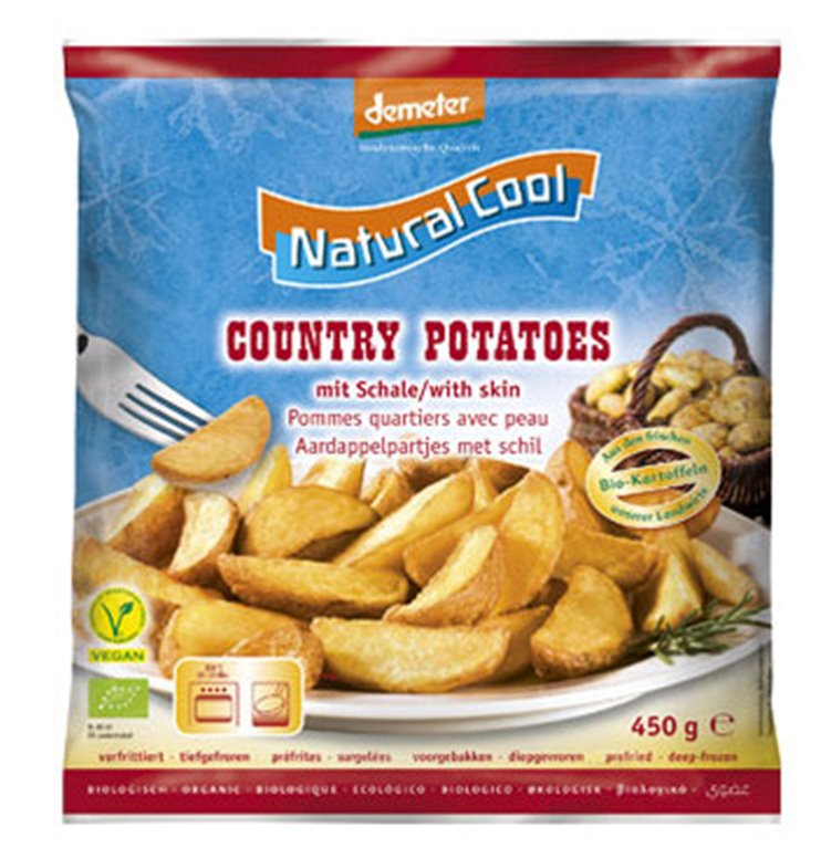 Country potatoes, 450 gr