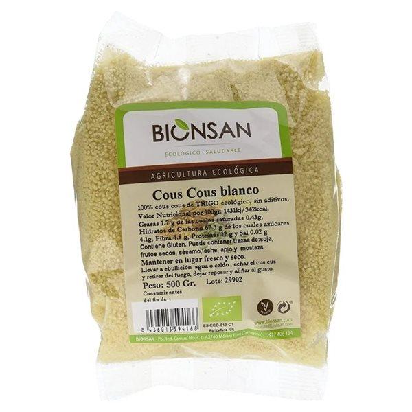 Cous Cous Blanco Bio 500g