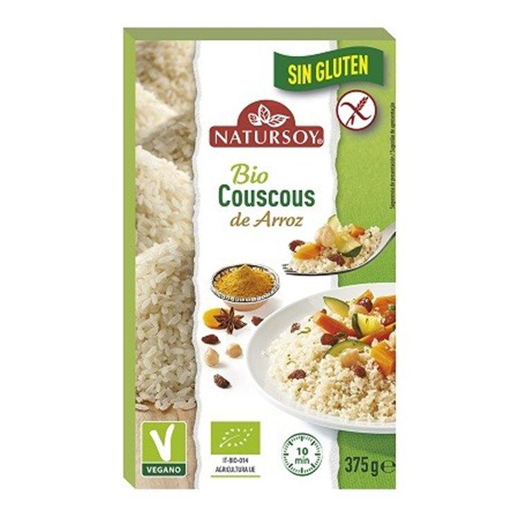 Cous Cous de Arroz Sin Gluten Bio 375g