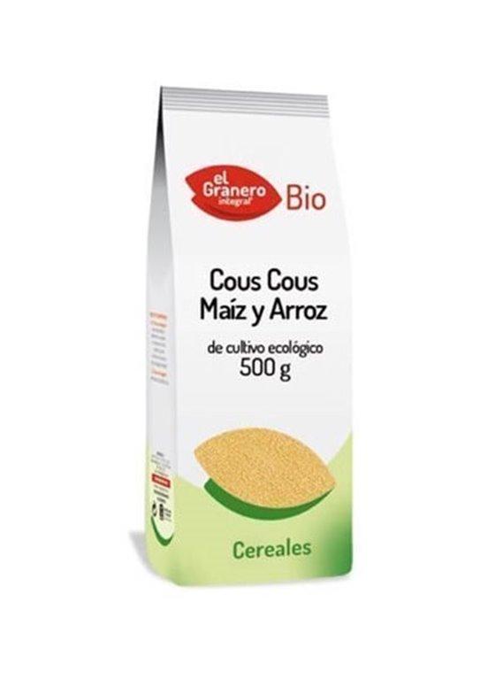 Cous Cous de maíz y arroz, 500 gr