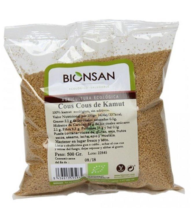 Cous Cous de TRIGO khorasan KAMUT® Bio 500g