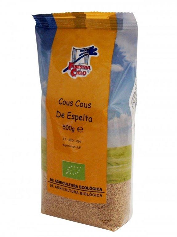 Cous Cous Integral de Espelta, 500 gr