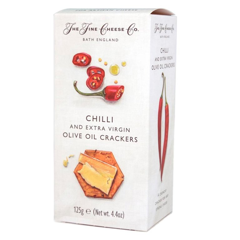 Crackers with Chili and Extra Virgin Olive Oil