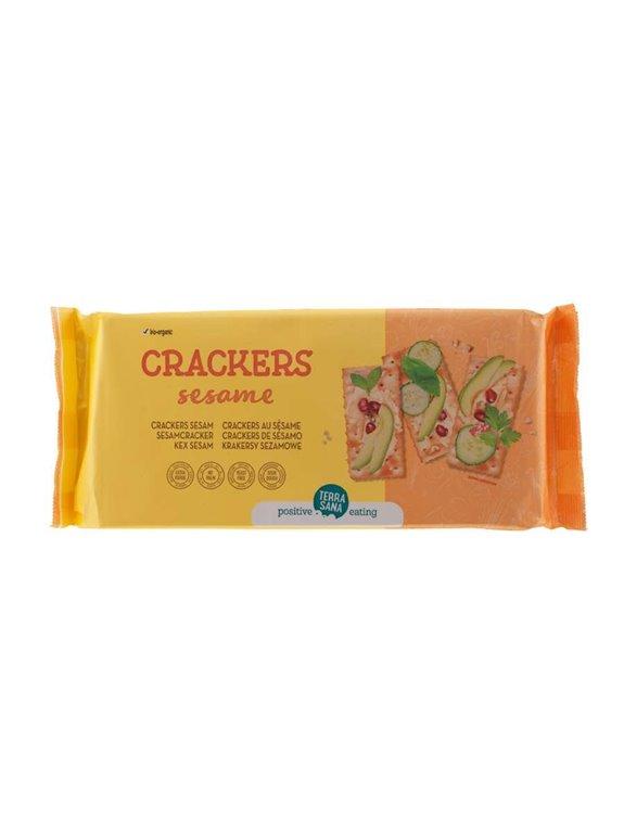 Crackers con sésamo, 300 gr