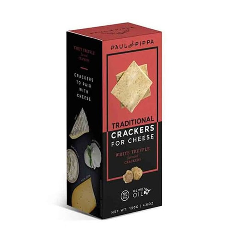 Crackers con Trufa Blanca