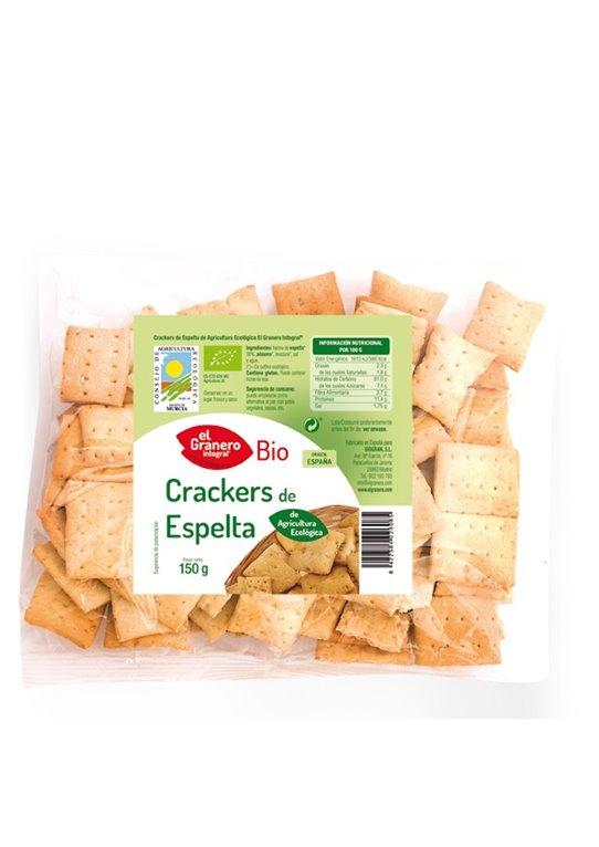 Crackers de Espelta con Sésamo Bio 150g