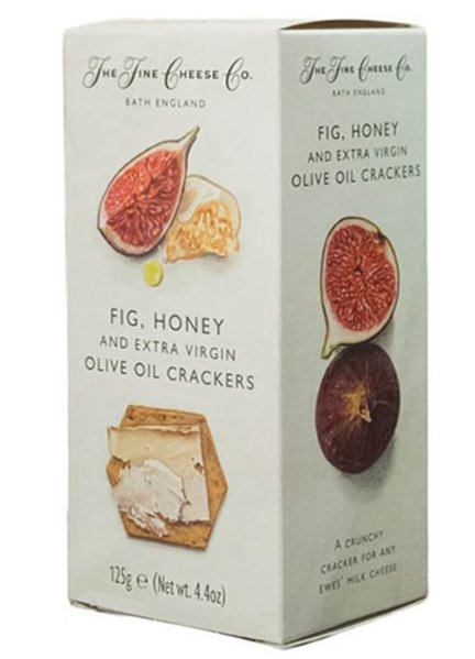Crackers De Higo, Miel y Aceite De Oliva Extra The Fine Cheese Co.