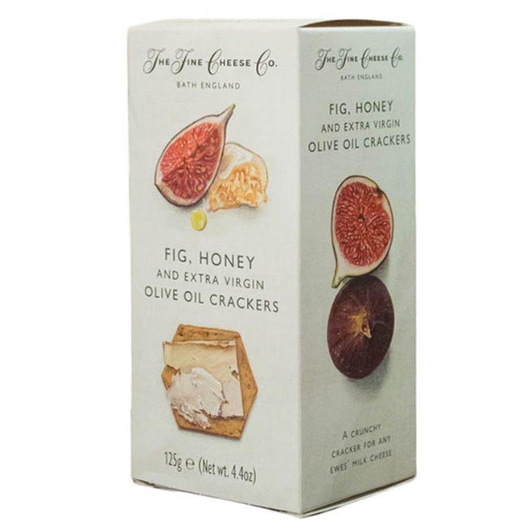Crackers de Higos, Miel y AOVE 125gr. The Fine Cheese Co. 6un., 1 ud
