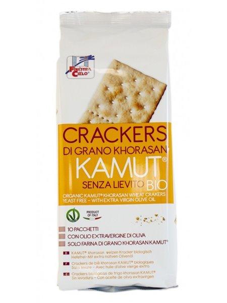 Crackers de TRIGO khorasan KAMUT® (Sin Levadura) Bio 290g
