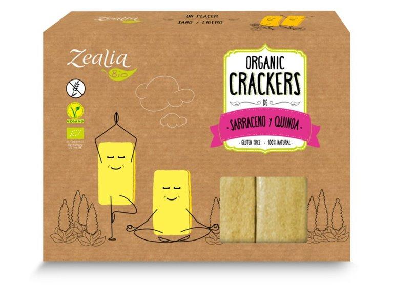 Crackers de Trigo Sarraceno y Quinoa Bio 120g