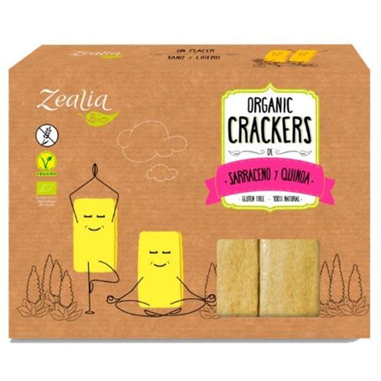 Crackers de Trigo Sarraceno y Quinoa Sin Gluten Bio 120g