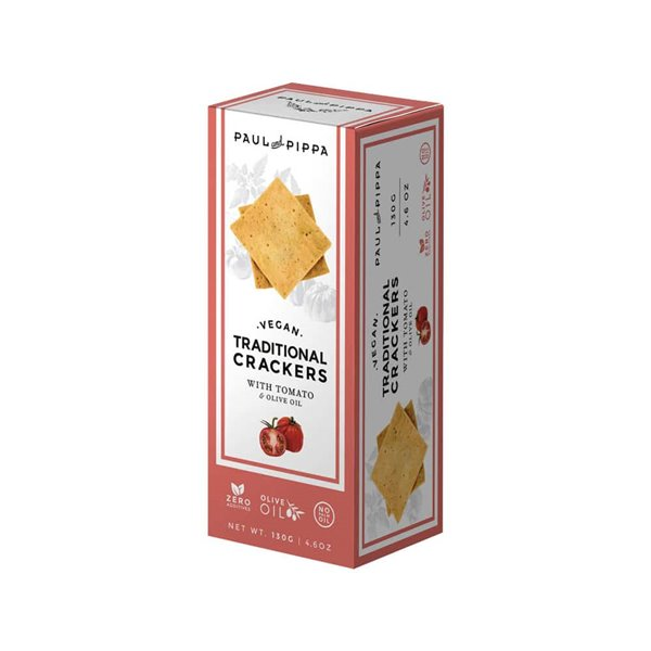 Crackers Tradicional con Tomato&Aceite de Oliva Paul and Pippa