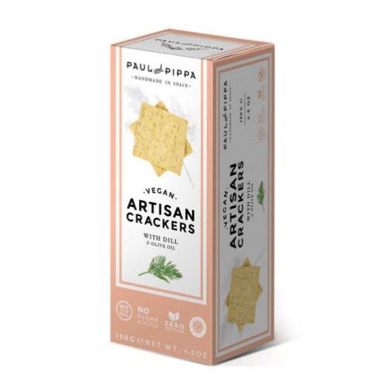 Crackers Veganas de Eneldo Single Edition