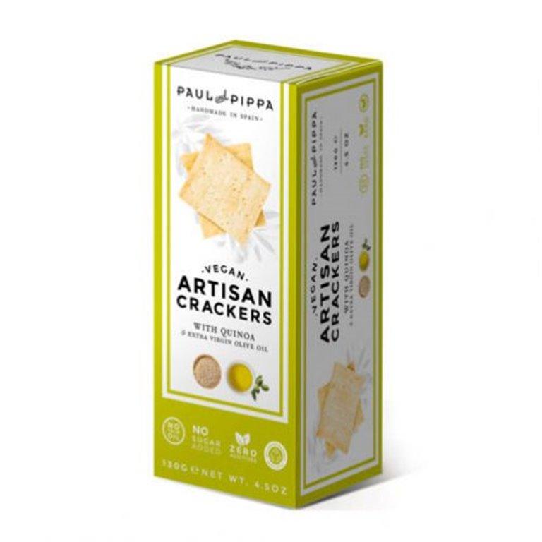 Crackers Veganas de Quinoa Single Edition