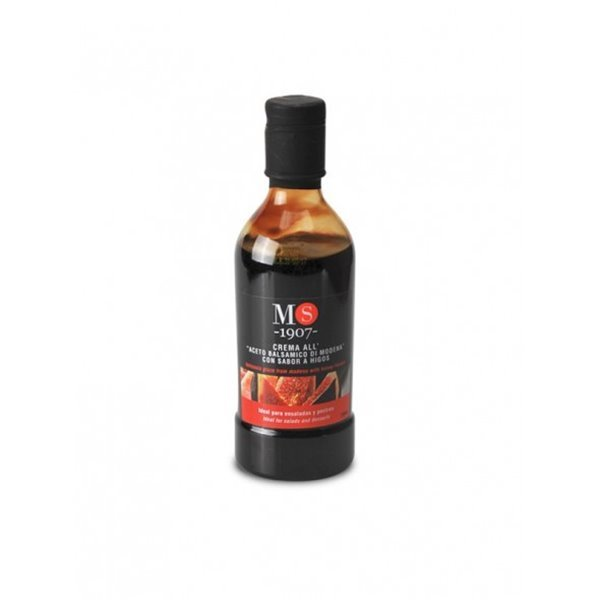 Crema Balsámica de Módena Sabor Higos MS1907 250 ml.