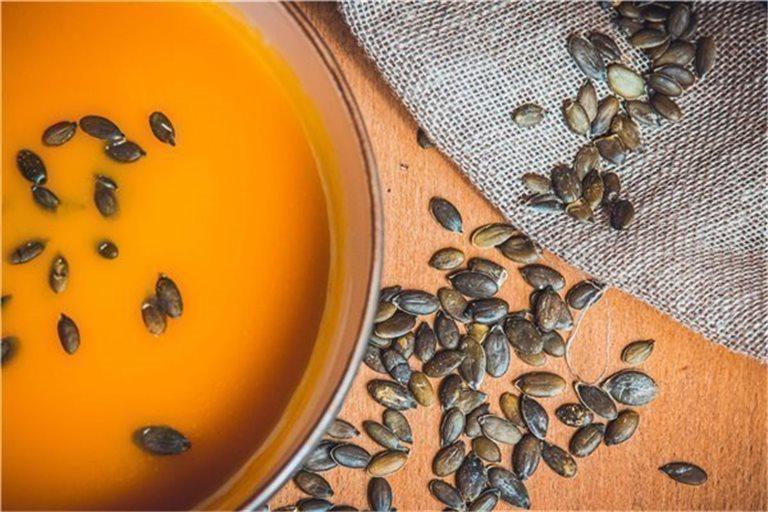 Crema de calabaza con curry y semillas - 580g