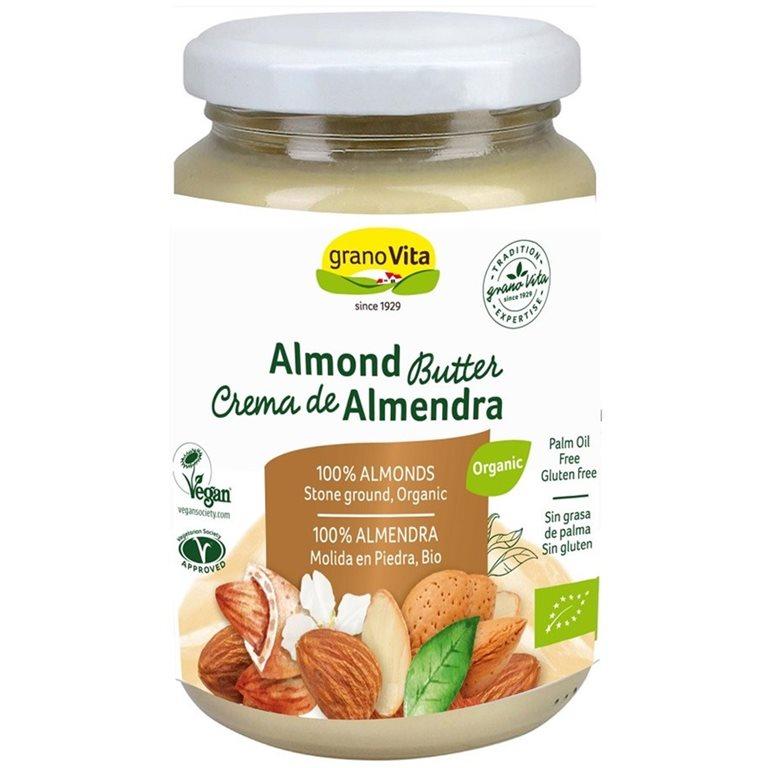 Crema de Almendras 100% Pura Bio 350g