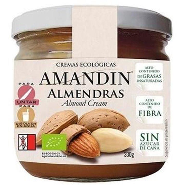 Crema de Almendras Bio 330g